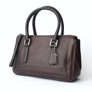 Vintage Coach Bonnie's Legacy Small Zip Satchel